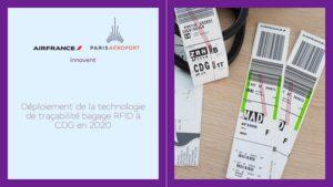 Suivi des bagages : Air France et Paris Aéroport passent au RFID